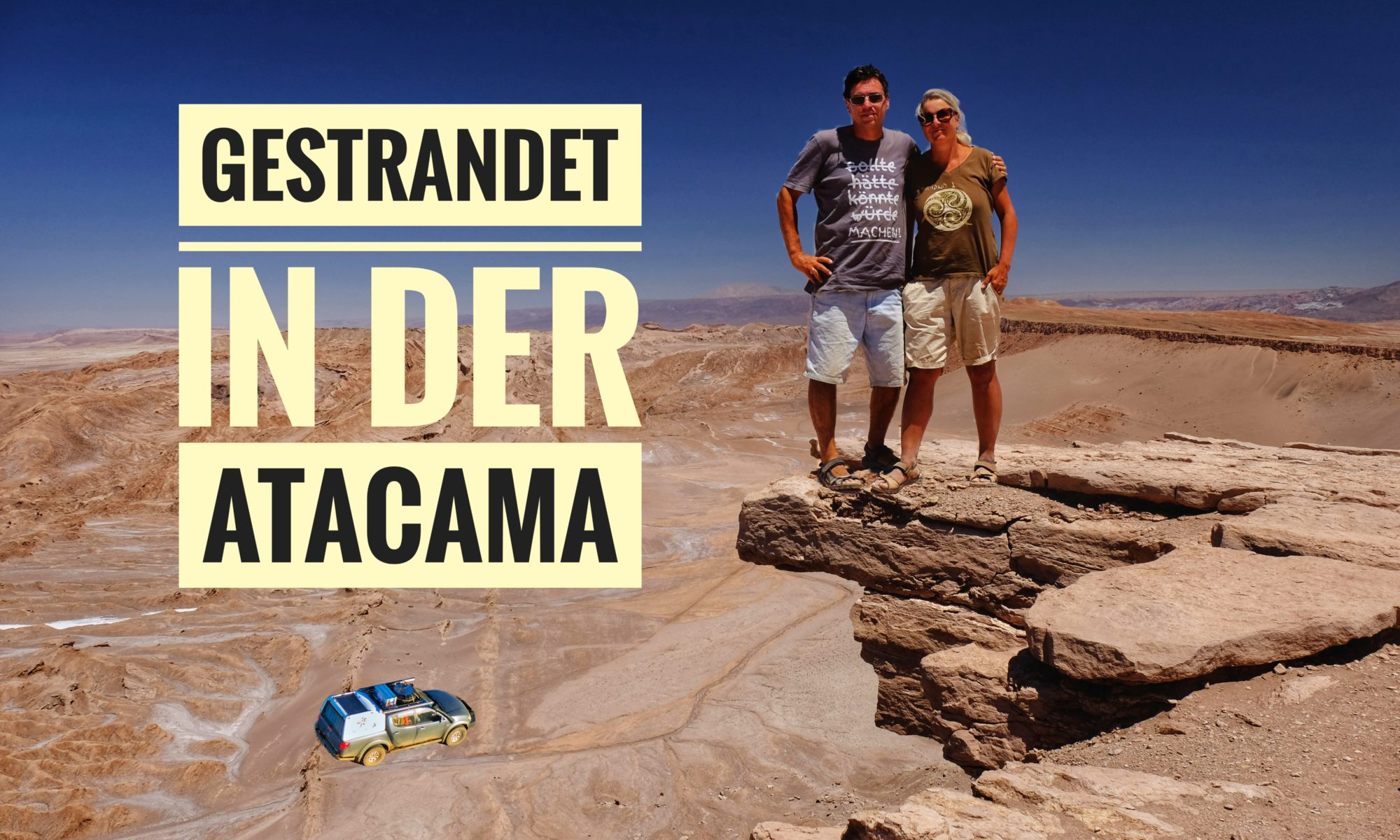 Gestrandet in der Atacama